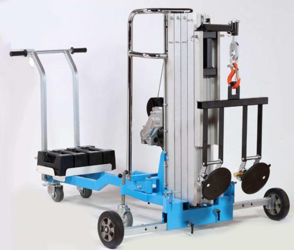 KSF BD400 Electric material lifter tragbarer elektrischer montagelift 0001 scaled