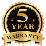 KSF 5 year warranty